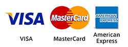 使用可能カード Visa Master Amex